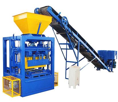 LMT4-26 Semi-Automatic Cement Brick Making Machine