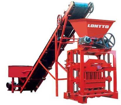 LMT4-35 Semi-Automatic Fly Ash Bricks Machine