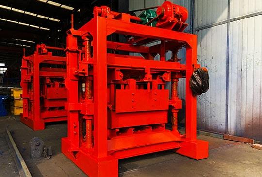 LMT4-40 Manual Brick Machine Delivery