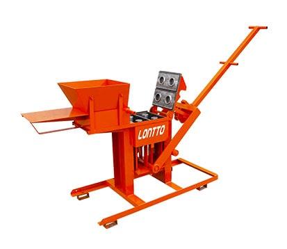LT2-40 Manual Interlocking Clay Paver Block Machine