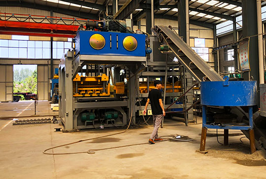 Lontto Solid Block Making Machine manufacturer