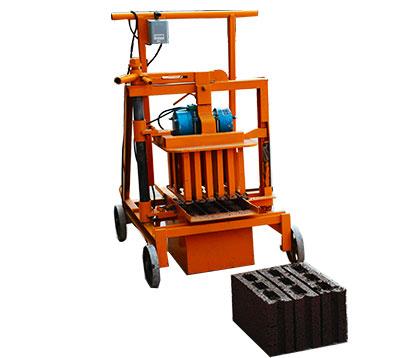 QMJ2-40 Small Hollow Block Maker Machine