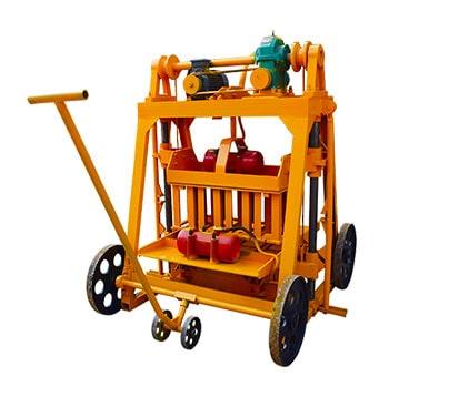 QMJ4-45 Manual Brick Machine
