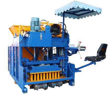 QMY18A Cement Brick Making Machine
