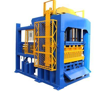 QT10-15 Automatic Interlocking Block Making Machine