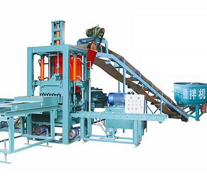 QT3-20 Cement Brick Making Machine