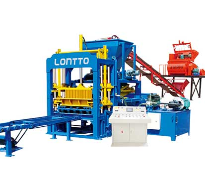 QT4-15 Automatic Hydraulic Interlocking Brick Machine