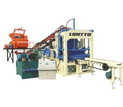 QT4-15 Hydraulic Automatic Cement Brick Making Machine
