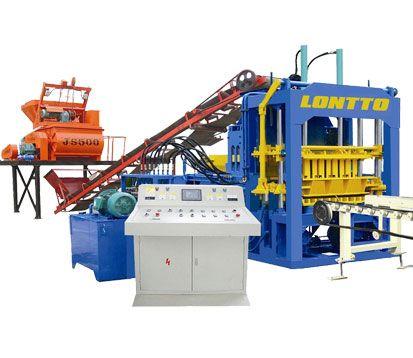 4-15 automatic concrete block making machine