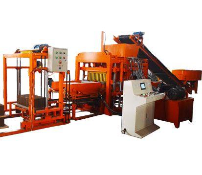 4-18 concrete block manufacturing machine