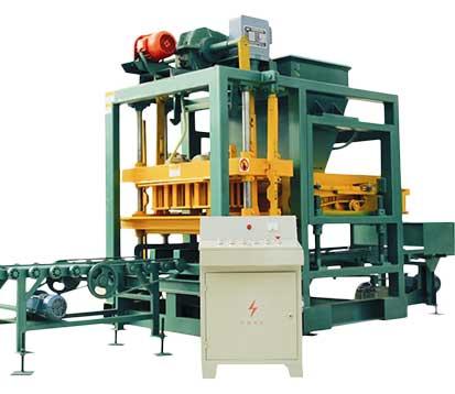 QT4-25C Automatic Fly Ash Brick Making Machine