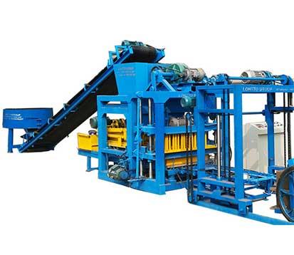 QT4-25C automatic cement brick manufacturing machine