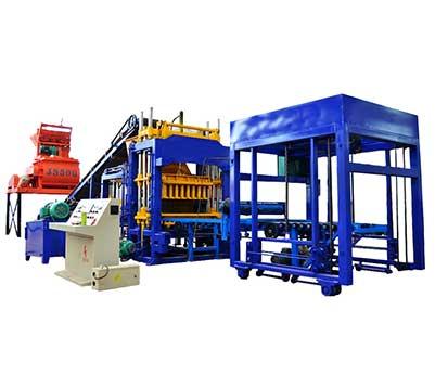 QT5-15 Hydraulic Cement Brick Making Machine