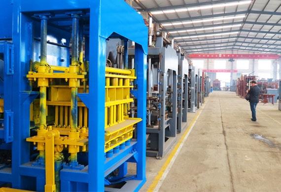 concrete block machine factory