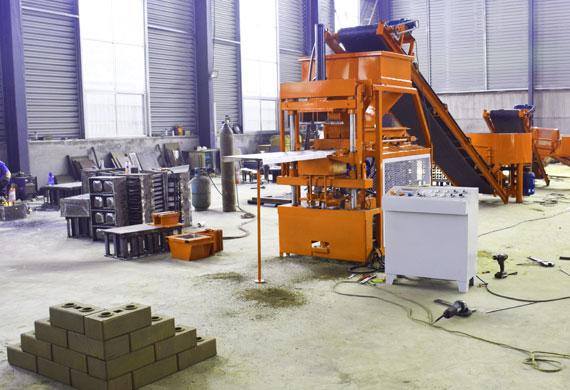 interlocking Brick Machine workshop