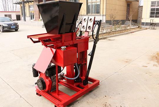 Earth brick machine manufacturer