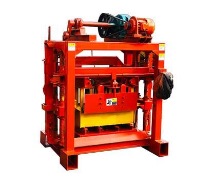 LMT4-40 Manual Concrete Hollow Block Maker