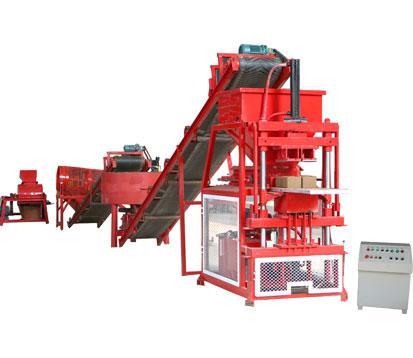 LT2-10 Automatic Compressed Earth Block Machine