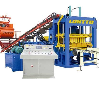 QT10-15 Hydraulic Brick Making Machine