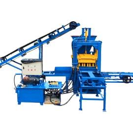 Semi-Automatic Hydraulic Brick Machine