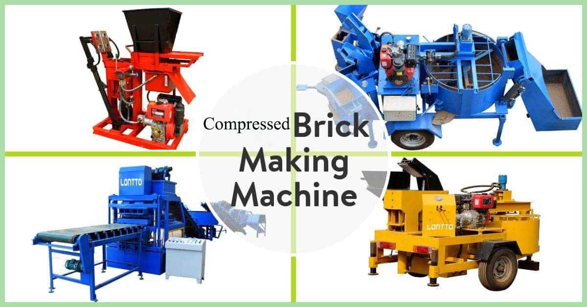 compressed earth block making machine