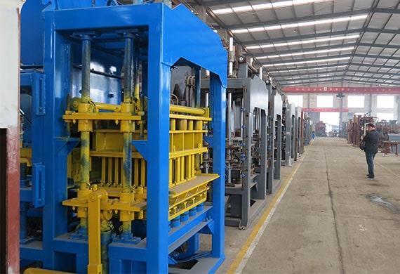 hydraulic brick making machine factory