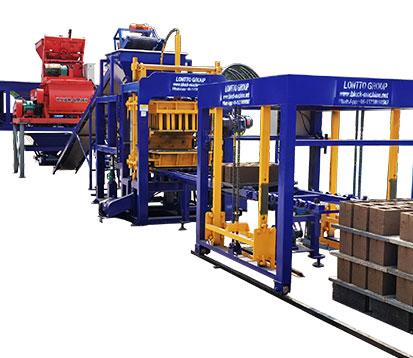 QT10-15 Automatic Brick Making Machine