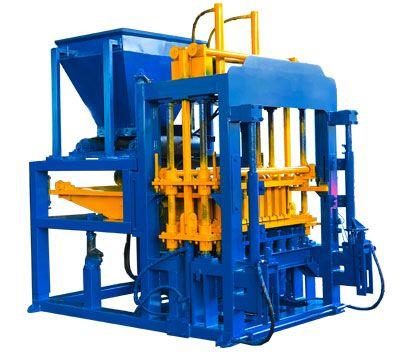 QT6-15 Concrete Cement Block Molding Machine