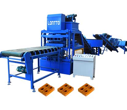 LT4-10 Automatic soil brick making machine