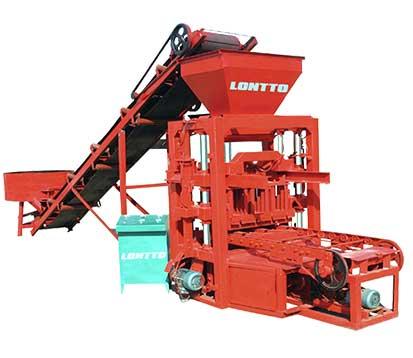 LMT4-26 Manual Concrete Block Making Machine in South Africa