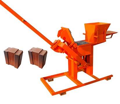 LT2-40 Manual Clay Brick Making Machine in South Africa