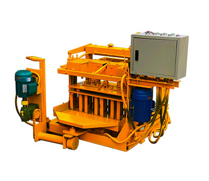 QMY4-30 Manual Concrete Block Making Machine in South Africa
