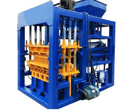 QT5-15 Hydraulic And Automatic Brick Making Machine in South Africa