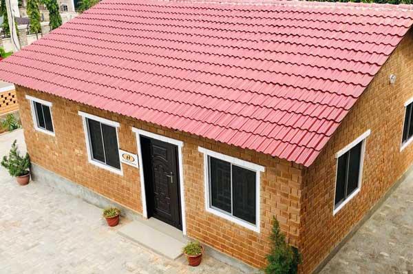 clay bricks for buliding house
