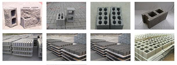 concrete blocks shape