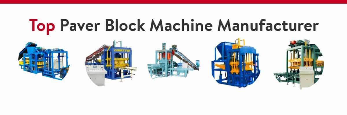 hydarulic concrete block making machine