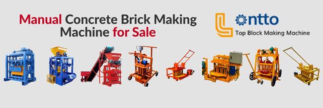 manual brick making machine supplier