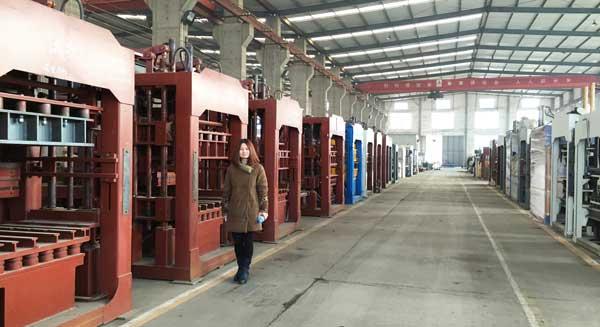 top hydraulic brick making machine company
